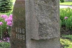 Piemiņas akmens Salaspils 800gadei
