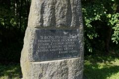 Zviedru pieminas akmens 1605. g.kauja